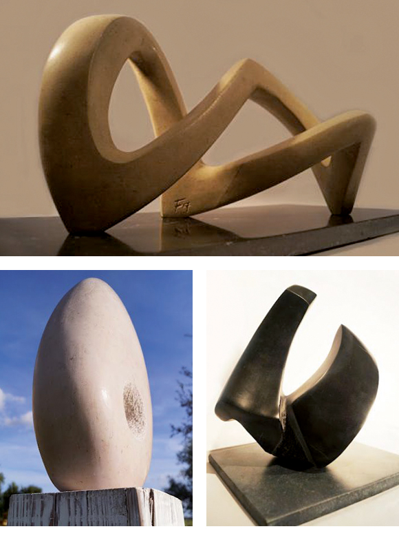 Aperçu des sculptures